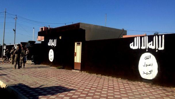 Một khu căn cứ của IS ở Syria
