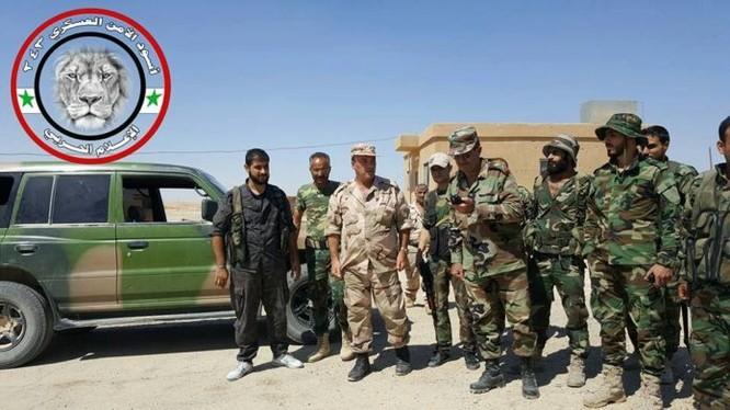 Binh sĩ quân đội Syria thuộc lực lượng Vệ binh Cộng hòa ở Deir Ezzor