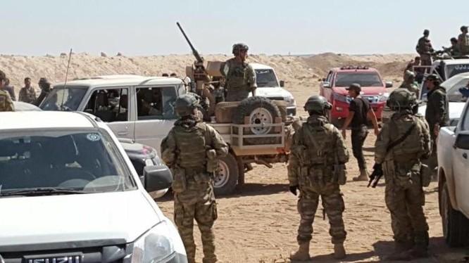 Lực lượng lính đặc nhiệm Mỹ ở Syria