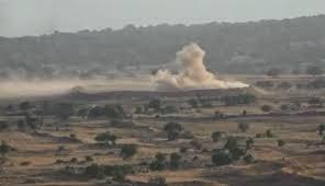 Không quân Israel không kích quân đội Syria trên cao nguyên Golan