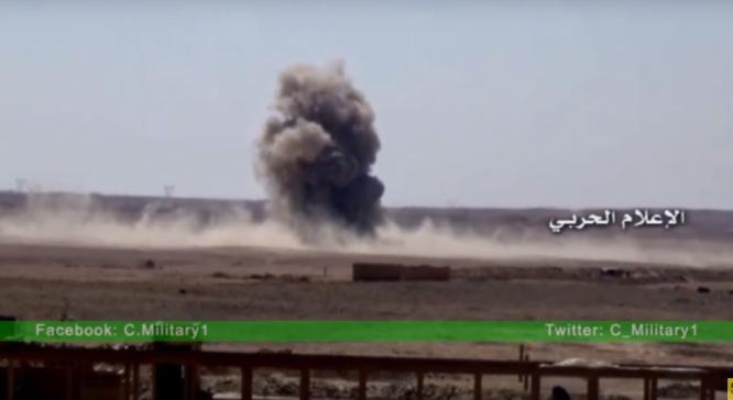 Không quân Syria không kích ở Deir ez Zor