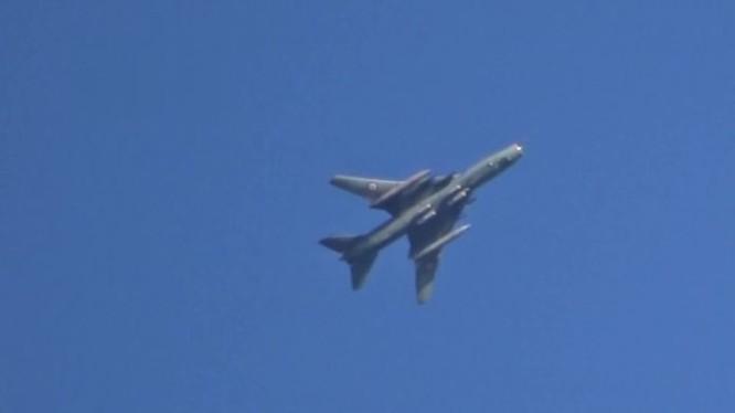 Máy bay chiến đấu Su-22 của không quân Syria