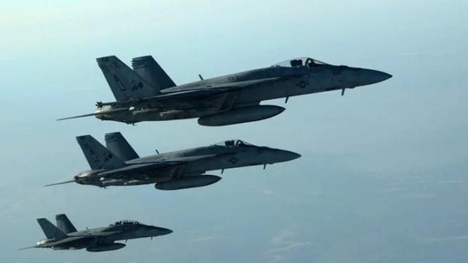 Máy bay Mỹ không kích (ảnh minh họa)
