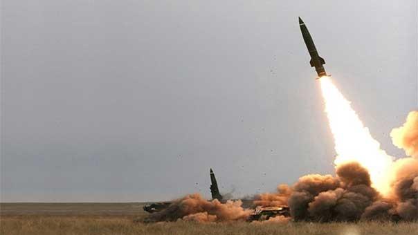 Quân đội Syria phóng tên lửa đạn đạo (ảnh minh họa)