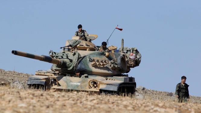 Xe tăng M-60 của Thổ Nhĩ Kỳ