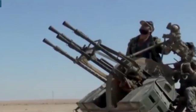 Binh sĩ quân đội Syria bắn vào máy bay trinh sát không người lái Mỹ