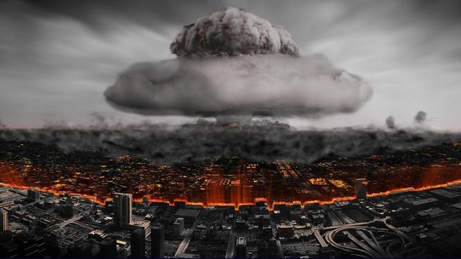 Mô hình một vụ tấn công hạt nhân vào thành phố lớn