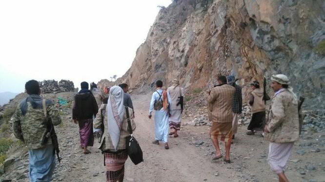Lực lượng chiến binh Houthi ở Ả rập Xê út