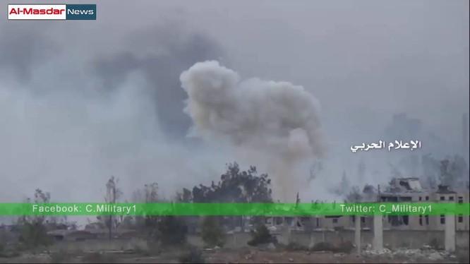 Không kích ác liệt trên chiến trường Aleppo