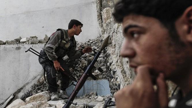Các tay súng Hồi giáo cực đoan ở Damascus