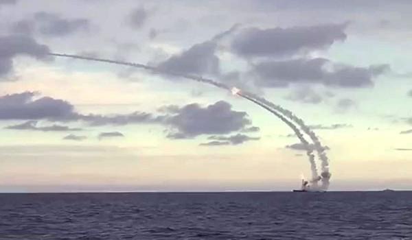 Tên lửa hành trình phóng từ chiến hạm của Nga