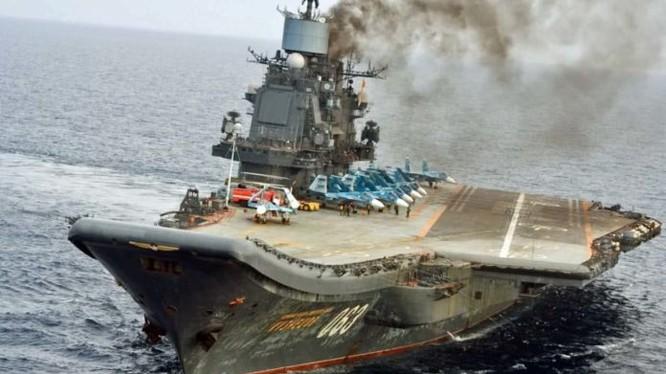 """Tuần dương sân bay """"Đô đốc Kuznetsov"""""""