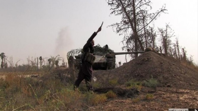Lực lượng chiến binh IS tấn công Deir ez Zor