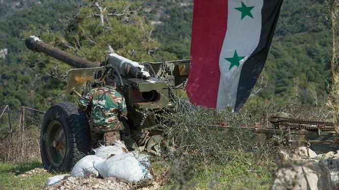 Quân đội Syria tiến công trên vùng Đông Bắc Latakia