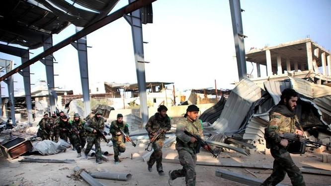 Quân đội Syria tấn công IS ở khu công nghiệp Aleppo
