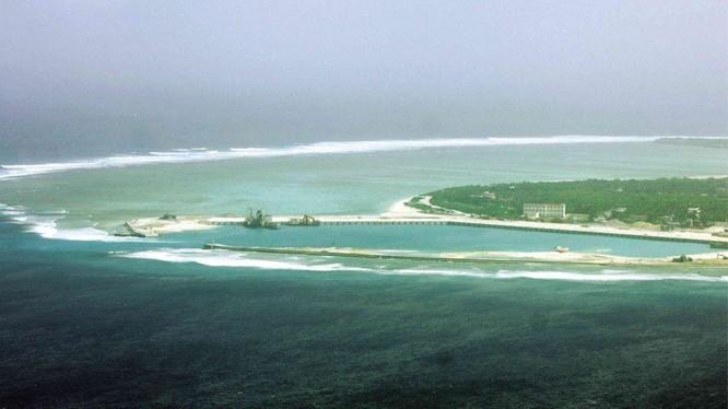 Một khung cảnh bờ biển Philipines