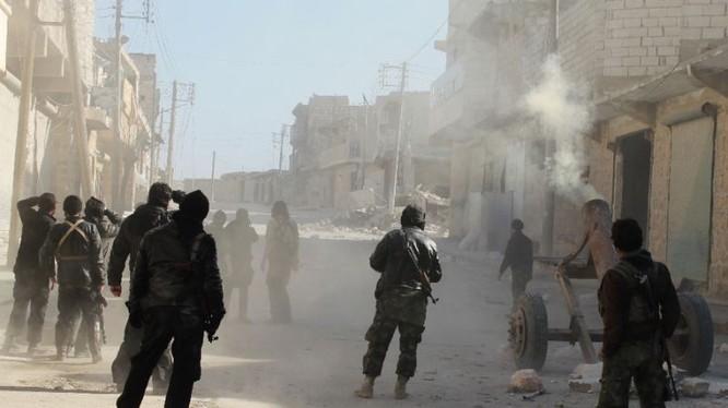 Lực lượng Hồi giáo cực đoan đánh chiếm làng Maan trên chiến trường Hama