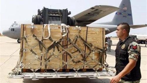 Máy bay Mỹ trên căn cứ không quân Al Udeid