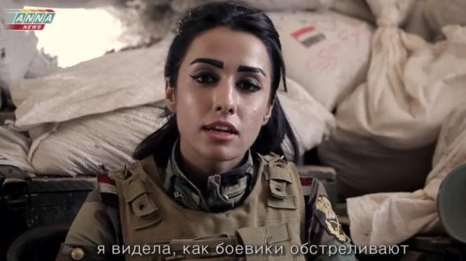 Binh sĩ Syria trên chiến trường Aleppo.