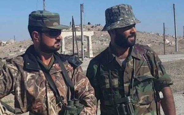 Tướng Tigers Suheil-al-Hassan trên chiến trường Aleppo