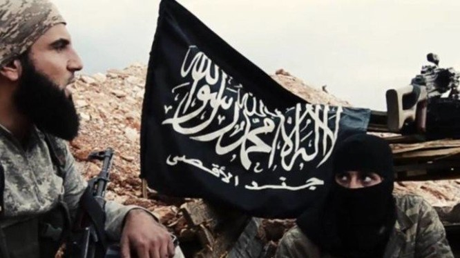 Một thủ lĩnh chiến trường của lực lượng Jund Al-Aqsa (Al-Qaeda Syria)