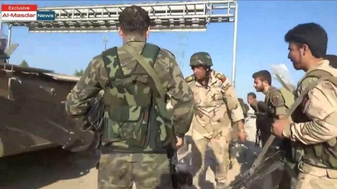 Thiếu tướng Zaid Saleh trên chiến trường