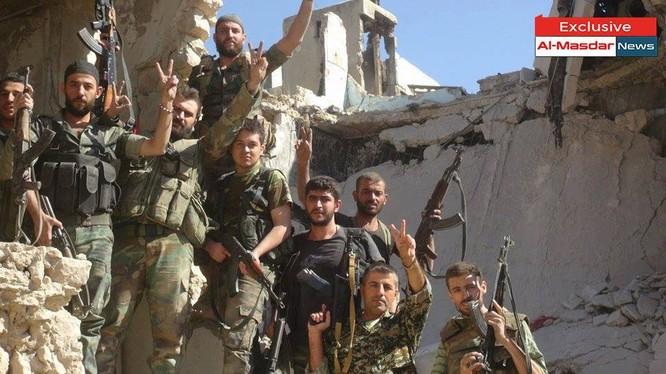Giải phóng Ung thư Kindi ở miền Bắc Aleppo hướng Tây trại tị nạn Handara