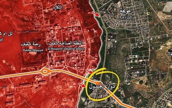 Bản đồ chiến sự Aleppo tính đến ngày 03.10.2016