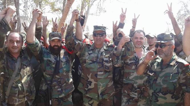 Lực lượng Liwa al-Quds kiểm soát quận Owaija thành phố Aleppo