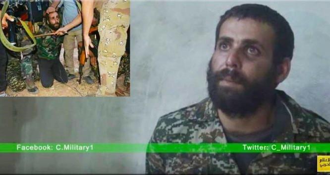 Chiến binh bị bắt sống ở thành phố Aleppo