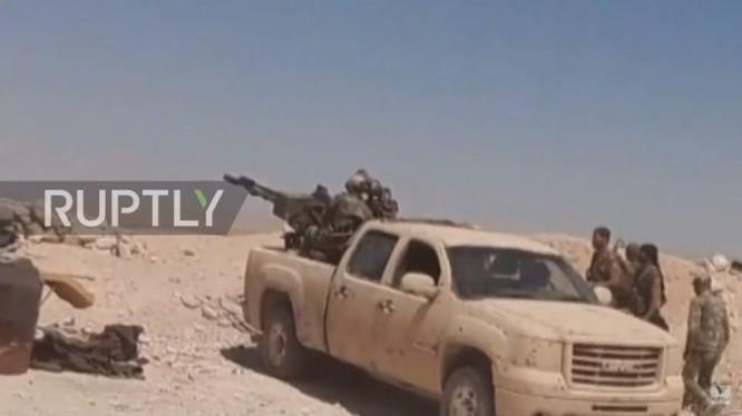 Quân đội Syria tấn công khu mỏ khí gas tỉnh Homs