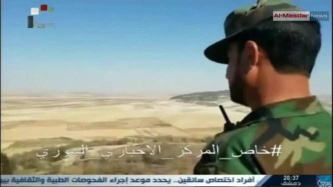 Tướng Tigers Suheil-al-Hassan trên chiến trường Hama