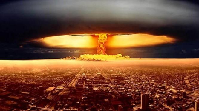 Hình ảnh mô phỏng một vụ nổ vũ khí hạt nhân chiến lược