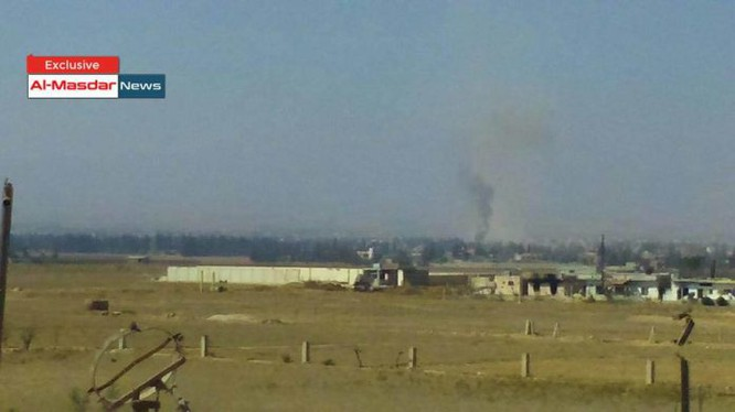 Thị trấn Khan al-Shih trong khu vực Tây Ghouta