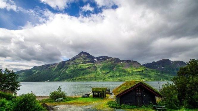 Ngôi nhà cô đơn tuyệt đẹp ở Na Uy