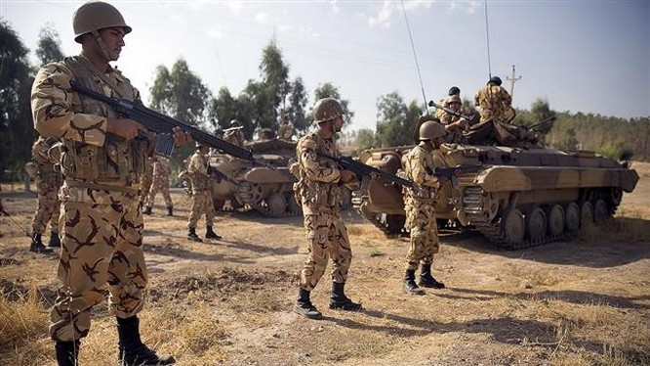 Binh sĩ quân đội Iraq trên chiến trường thành phố Mosul