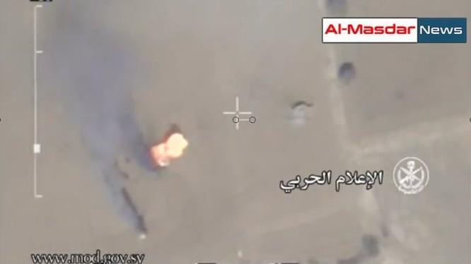 Video drrone ghi lại quang cảnh cuộc chiến đấu của quân đội Syria ở Tây Ghouta