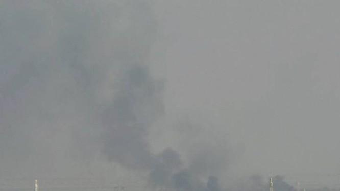 Quân đội Syria tấn công vào khu vực cao điểm Tal-Kurdi
