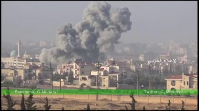 Cuộc chiến phòng thủ dự án xây dựng 1070, vị trí chiến lược miền Tây Nam Aleppo