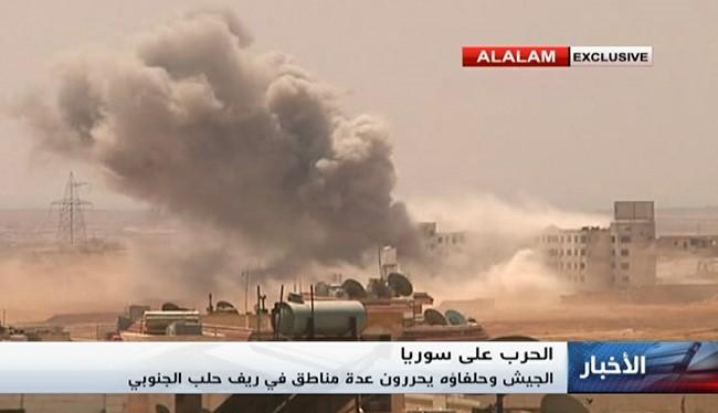 Giao chiến diễn ra ác liệt trên hướng Tây thành phố Aleppo