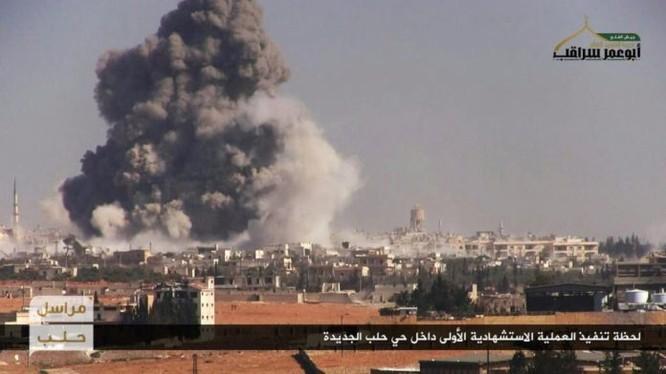 Vụ đánh bom tự sát kinh hoàng ở Aleppo