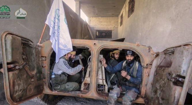 Nhóm chiến binh Jabhat Ahrar-al-Sham tham chiến ở Aleppo