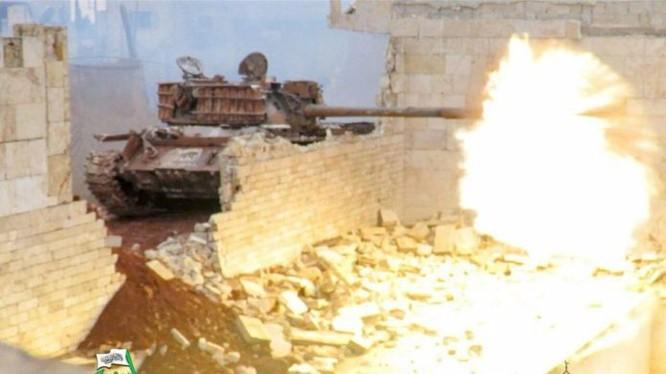 Lực lượng Hồi giáo cực đoan pháo kích man rợ hủy diệt khu vực phía Tây Aleppo