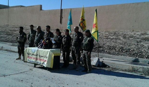Các lãnh đạo của lực lượng YPG, SDF trong tuyên bố chính thức tiến hành chiến dịch giải phóng Raqqa