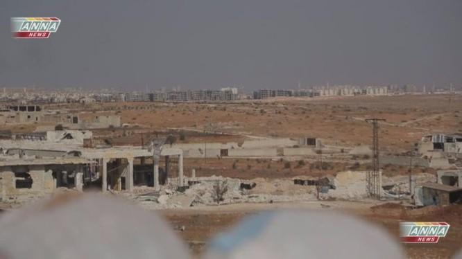 Quân đội Syria đánh chiếm khu dự án 1070 Tây Nam Aleppo
