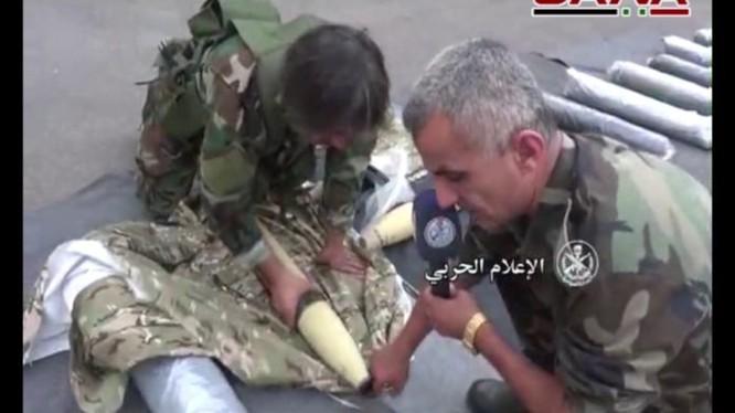 Quân đội Syria bắt giữ một nhóm khủng bố hoạt động ngầm, thu vũ khí