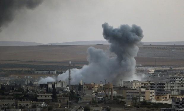 Không quân Nga không kích phía Tây Aleppo