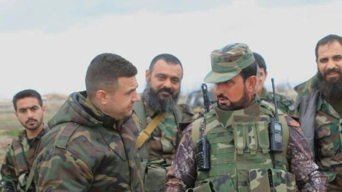 Thiếu tướng Suheil Al Hassan trên chiến trường Aleppo