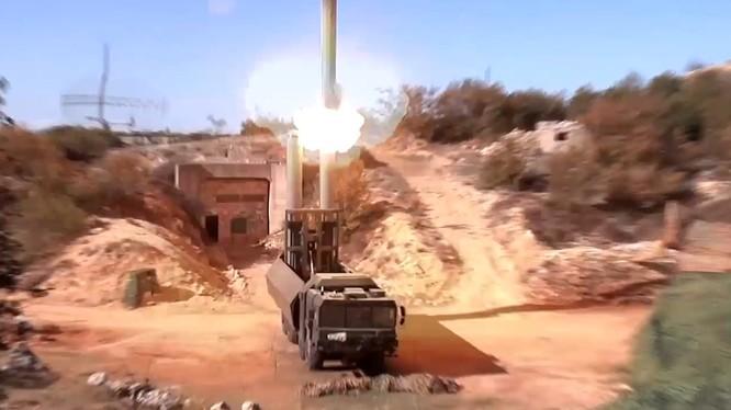 Tổ hợp tên lửa Bastion Syria tham chiến chống khủng bố