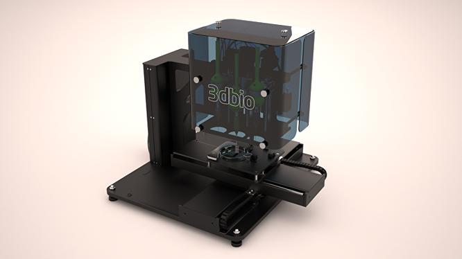Máy in 3D Bioprinting, nguyên mẫu thử nghiệm
